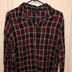 Lucky Brand button up flannel